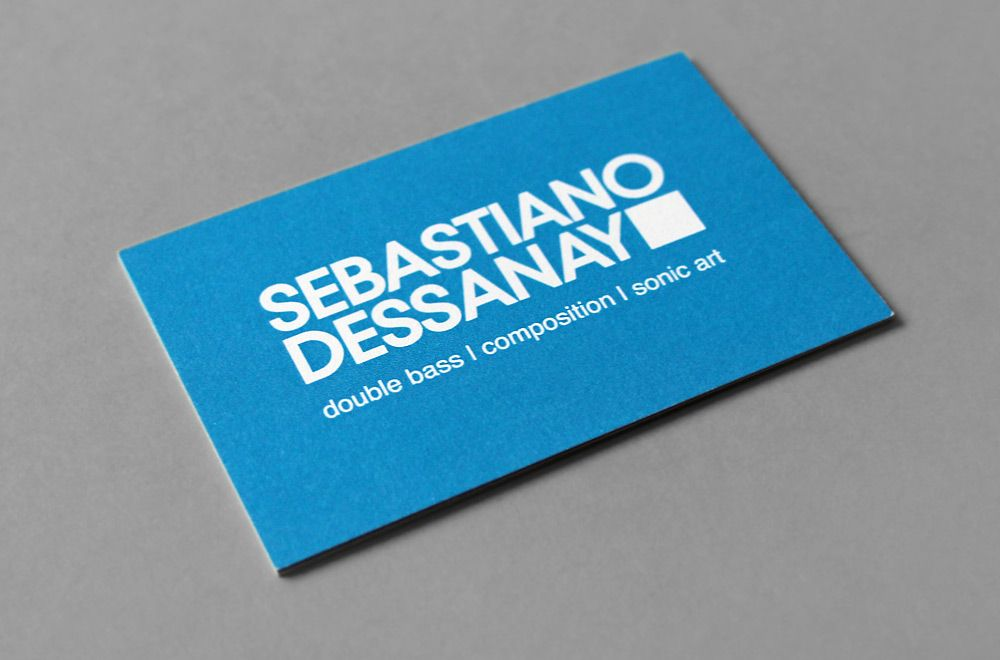 Sebastiano Dessanay | James Finch - designer and front end ...