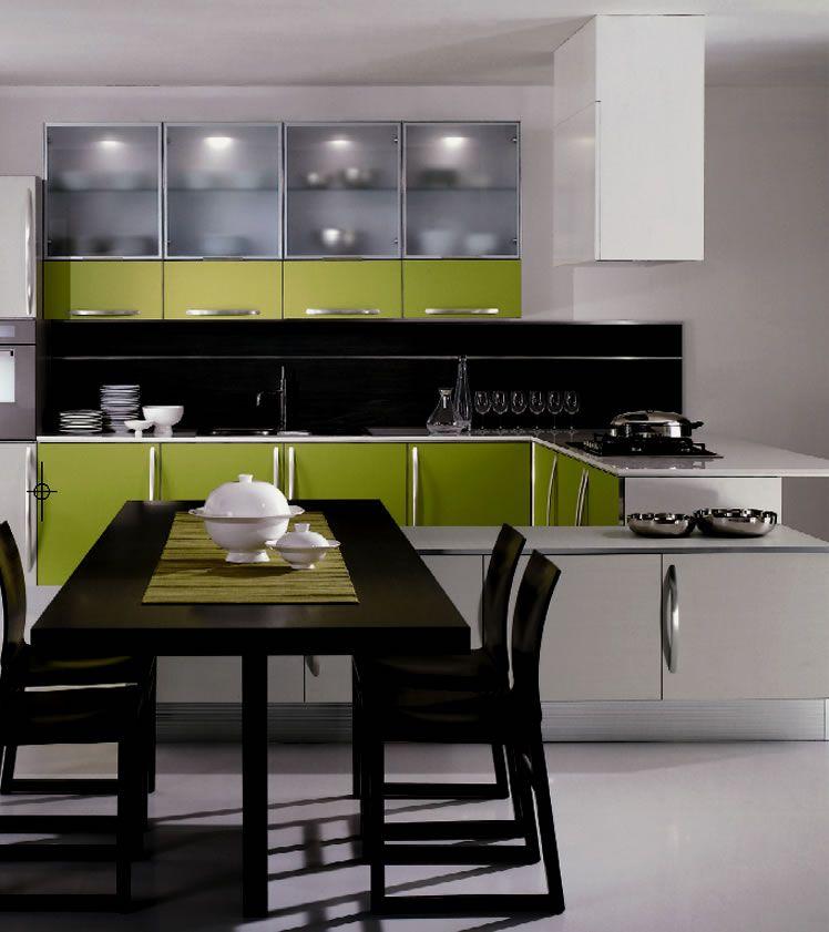 Grey And Green Kitchen lime kitchen | condo interior design | pinterest | modern kitchen