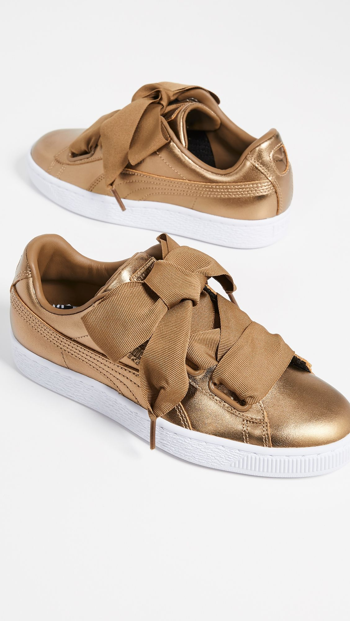 grand choix de c2be6 1c37c Basket Heart Luxe Sneakers   Products in 2019   Puma basket ...
