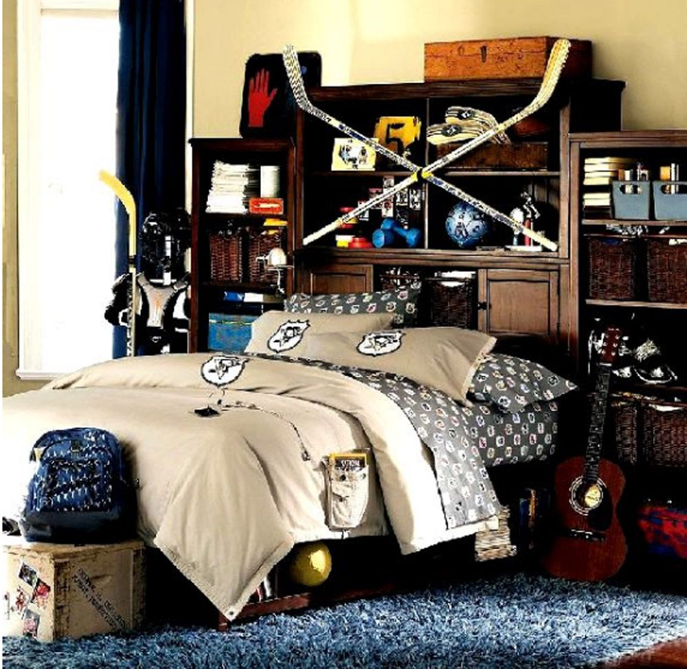 Cool Teenage Boy Bedroom Design