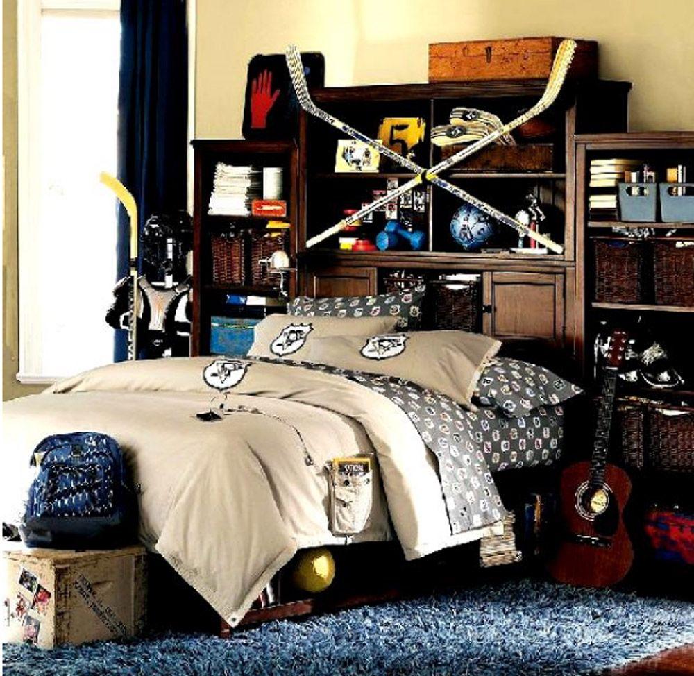 Cool Teenage Boy Bedroom Design   Boys Bedroom Ideas ...