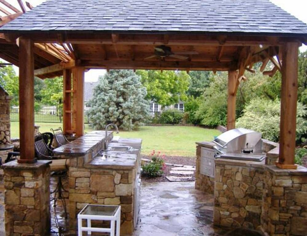 Outdoor kitchen ideas on a budget outdoor projects for Outdoor kitchens on a budget