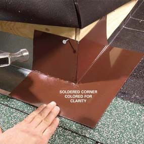 Best Roof Flashing Techniques For Outside Corners Const 400 x 300
