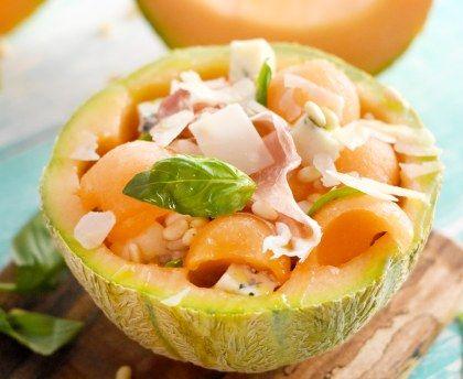 Salade De Melon A L Italienne Recipe Fruit Jello Salads