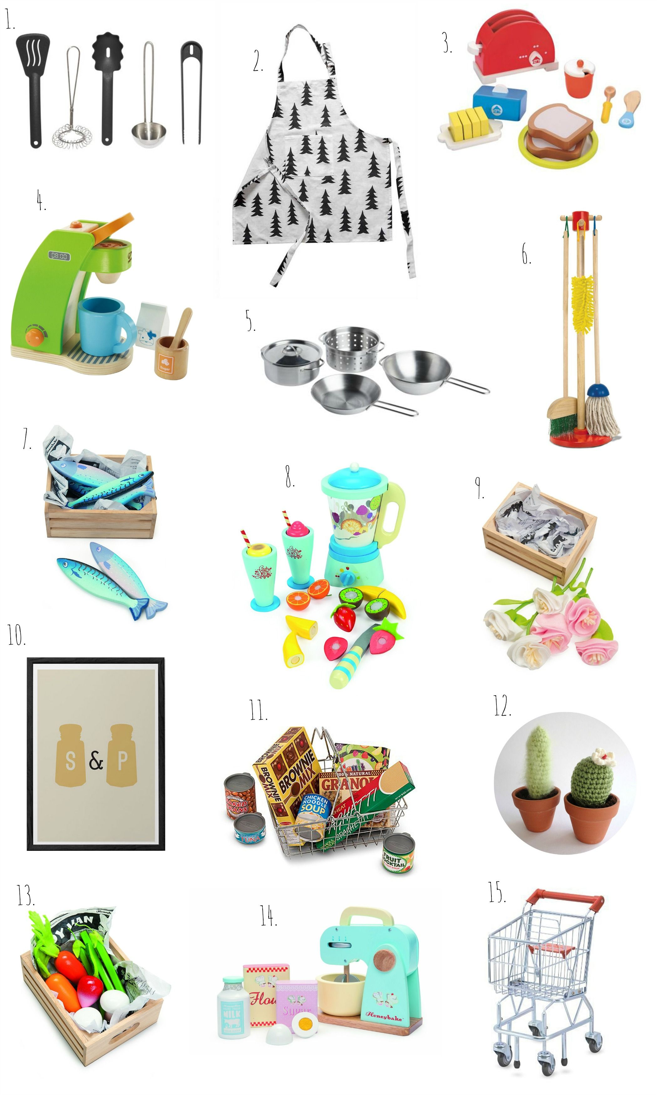 Play Kitchen Accessories | odette | Pinterest | Kitchen accessories ...