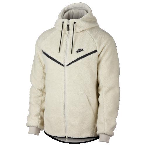 ae3d5dc4ff52 Size Small (color  light bone black) Nike Sherpa Full-Zip Windrunner Jacket  - Men s