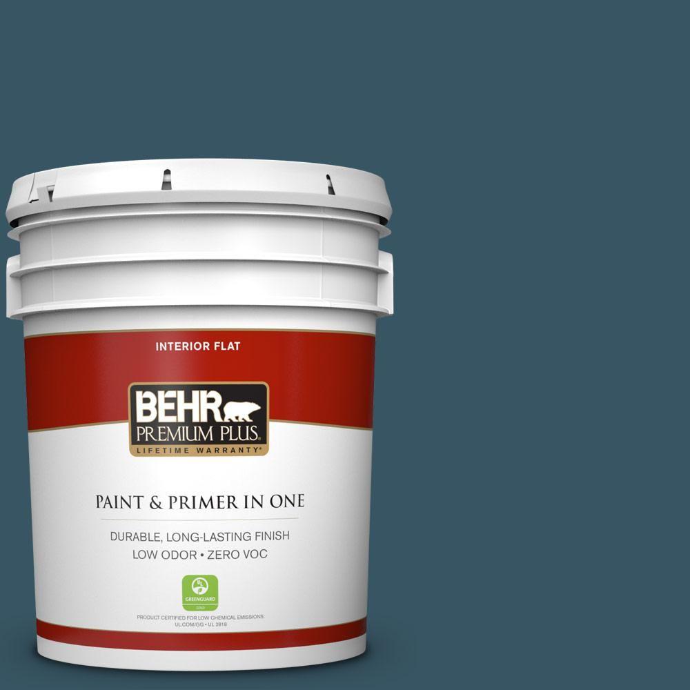 #S460 7 Deep Breath Zero VOC Flat Interior Paint