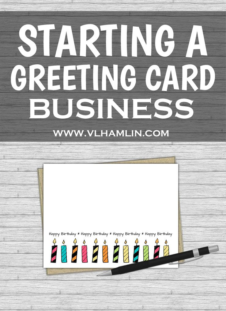 Starting a Greeting Card Business | Business checks and Craft