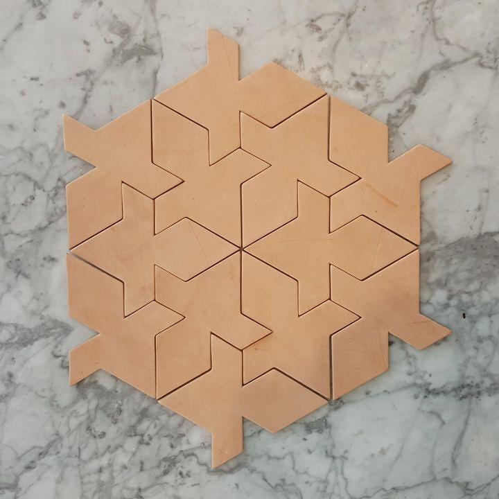 Coasters. Trivets. Floor tiles. Puzzle?  #emilerwinhome by emilerwin