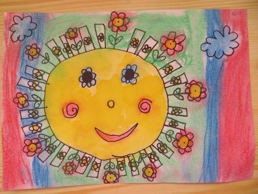 sluníčko | Kresby, Malování, Obrázky