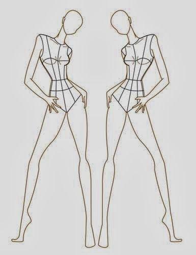 Fashion Body Free Templates Corpi Dei Figurini Moda Da Disegnare