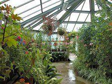 Glass House, Threave Gardens, Scotland