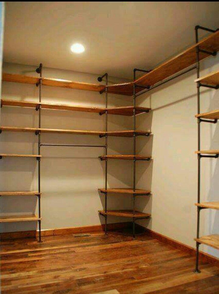 Mueble con tuberías pvc   Pvc   Pinterest   Tuberia pvc, Vestidor y ...