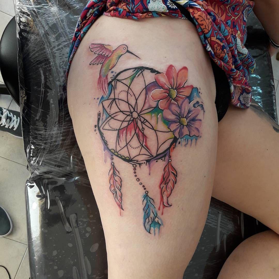 21 increíbles tatuajes de atrapasueños súper femeninos que despertarán tu  lado espiritual | Tatuajes atrapasueños, Tatuajes, Tatuajes al azar