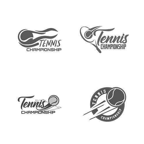 Visit Our Gallery For Best Logo Of Tennis Vector Design Logo Template Tennis Racket Tennis Ball Us Open Table Tennis Tenn Tarjeta Tenis Presentaciones