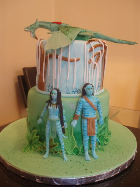 Avatar cake | Avatar, Cake and Birthday cakes