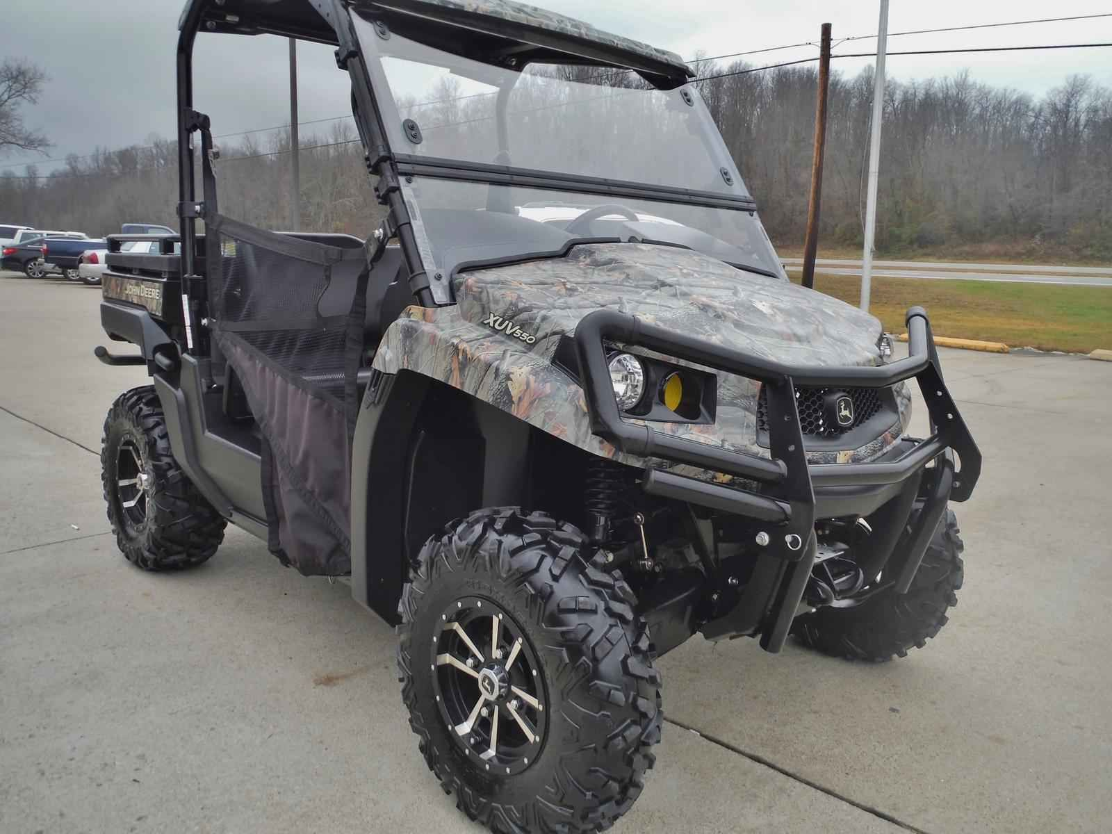 Used 2014 John Deere Gator XUV 550 ATVs For Sale in Ohio 2014 JOHN
