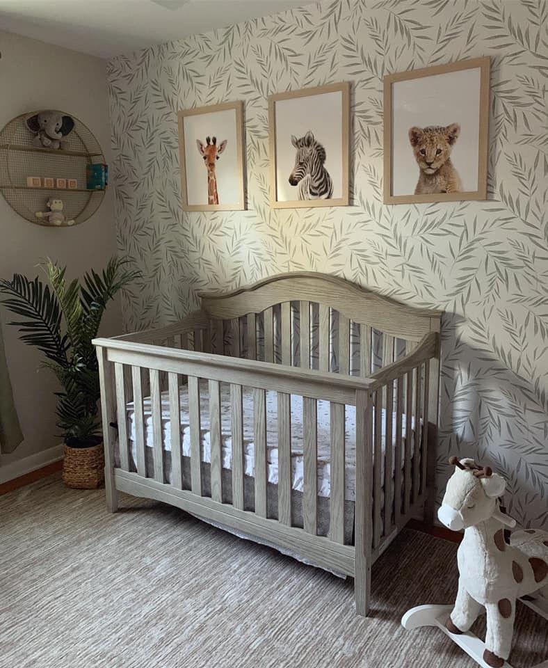 Nursery Nursery Room Boy Baby Nursery Neutral Removable Wallpaper Nursery
