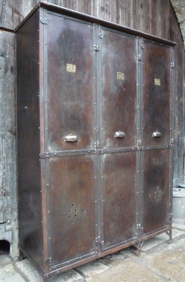 Armoires de rangement et vestiaires mettetal industry - Meuble penderie bas ...