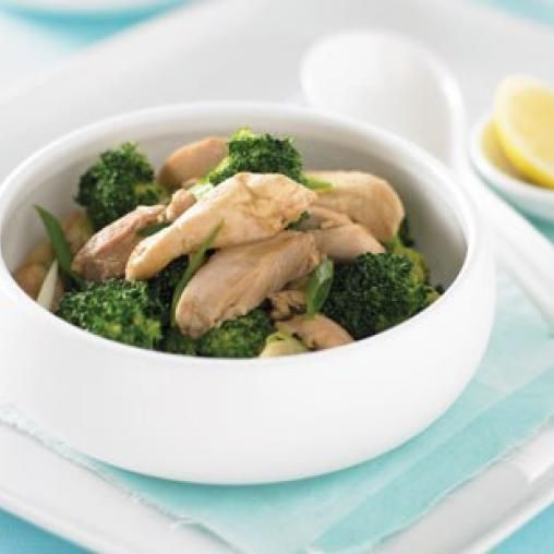 Chicken and broccoli red curry stir fry australian healthy food food forumfinder Images