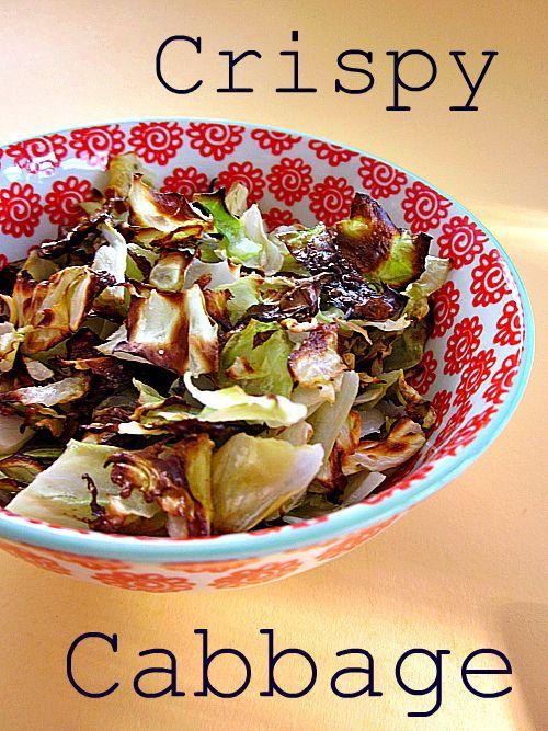 Cadry's Kitchen: Crispy Cabbage