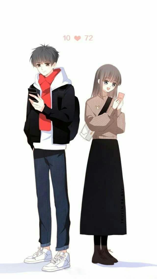 Fondos de pantalla de parejas (Versión anime)