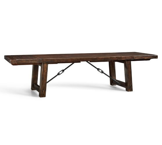 Benchwright Extending Dining Table Alfresco Brown Pinterest - Pottery barn extension dining table