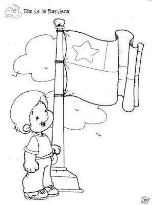 Colorear Fiestas Patrias Chilenas Fiestas Patrias De Chile Dibujos