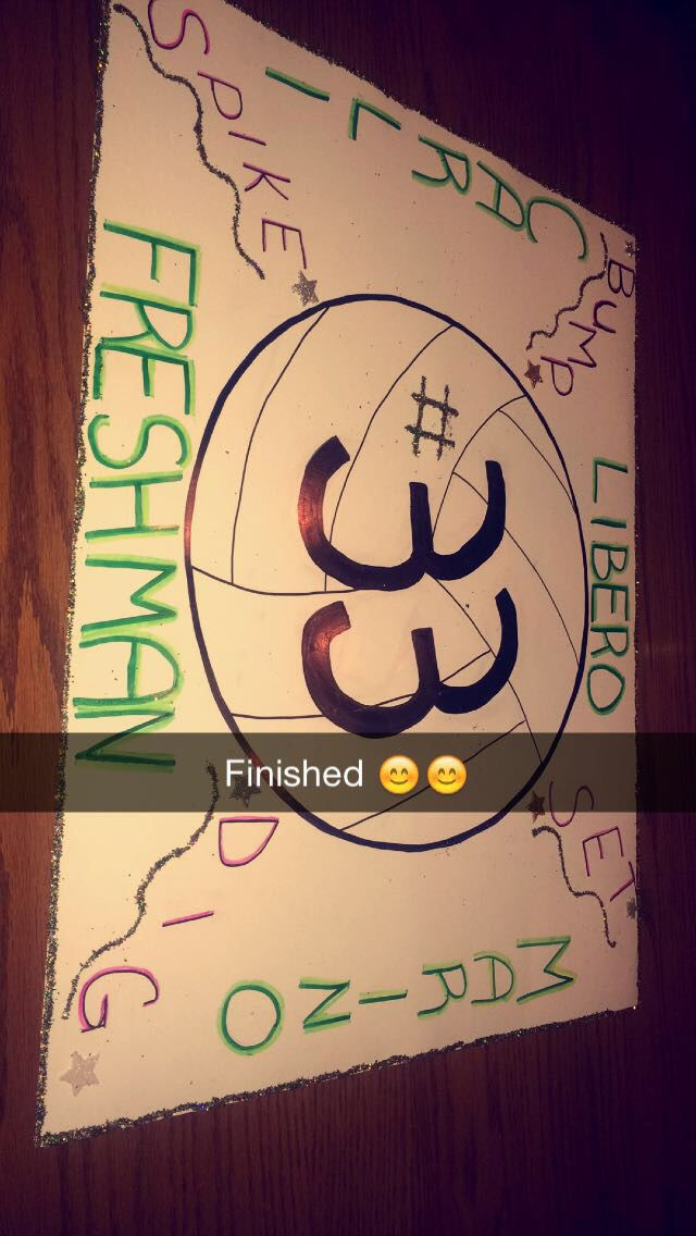My Volleyball Poster Volleyball Posters Volleyball Signs Cheer Posters