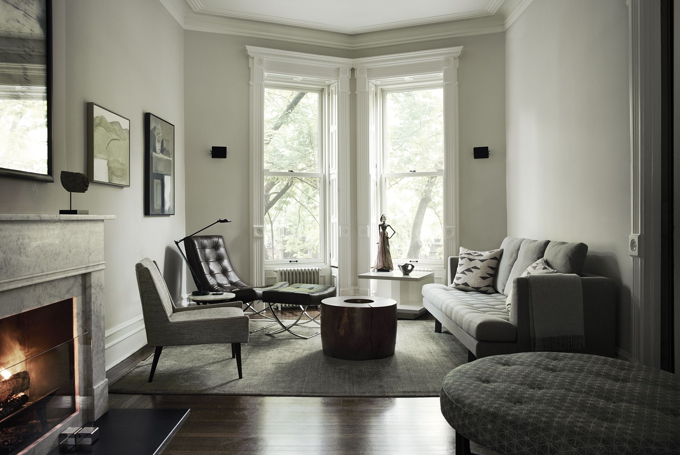 serenity now: creating calm and luxe in a brooklyn townhouse