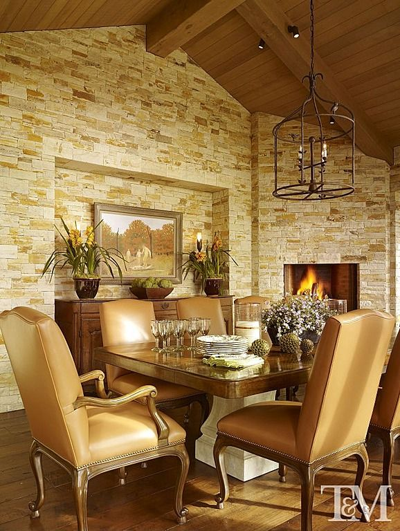 Mediterranean Dining Room - Found on Zillow Digs Tucker & Marks ...