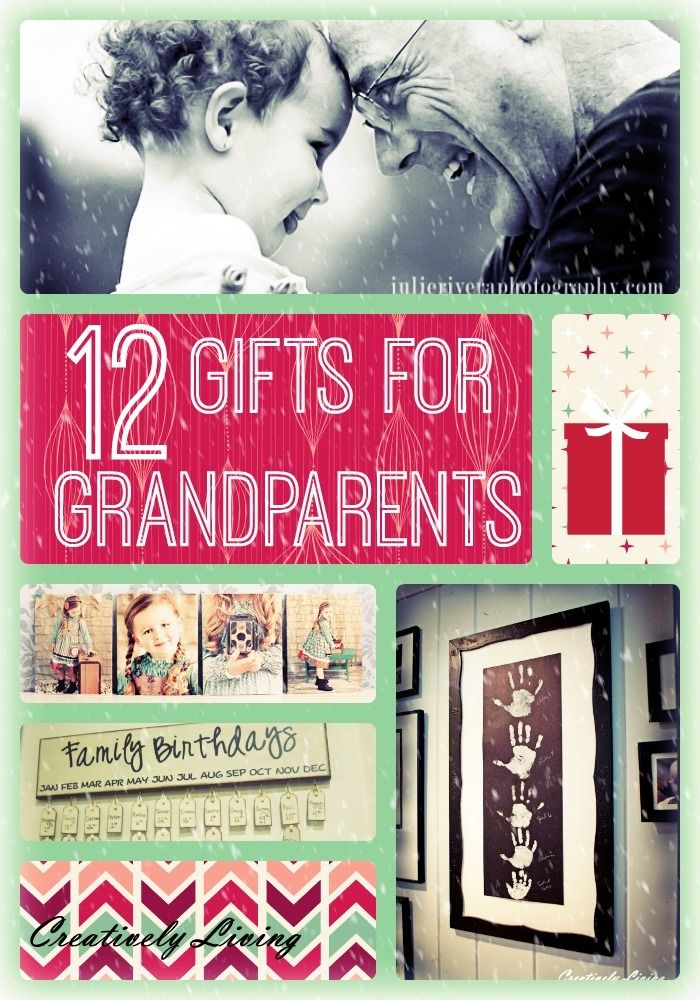 12 gifts for grandparents