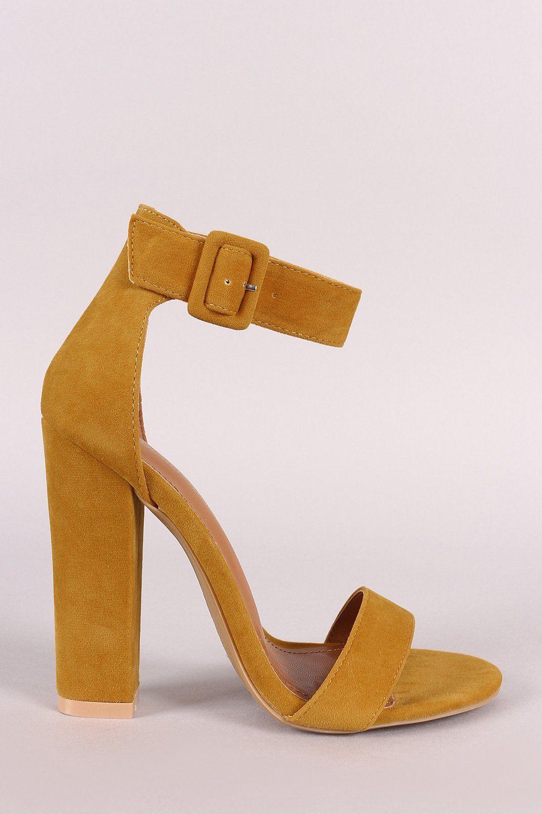 Shoe Republic Block Chunky Heel Velvet Zipper Round Toe Bootie Ankle Boots