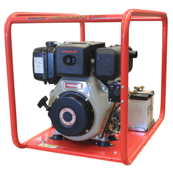 Genelite 6.5kVA Diesel Welder Generator Workstation