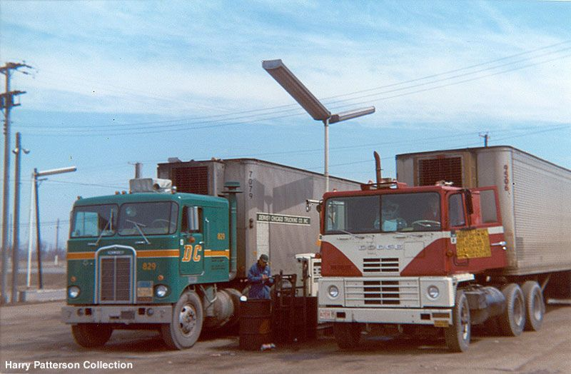 Classic Truck Stops Of The Past With Images Trucks Classic