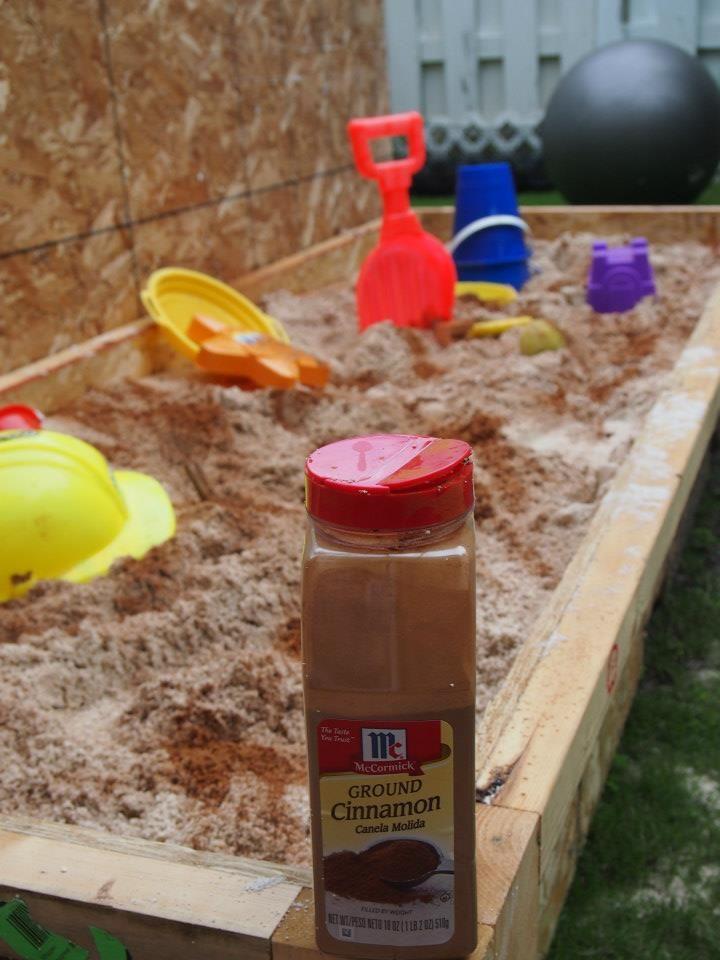 kids in a sandboc