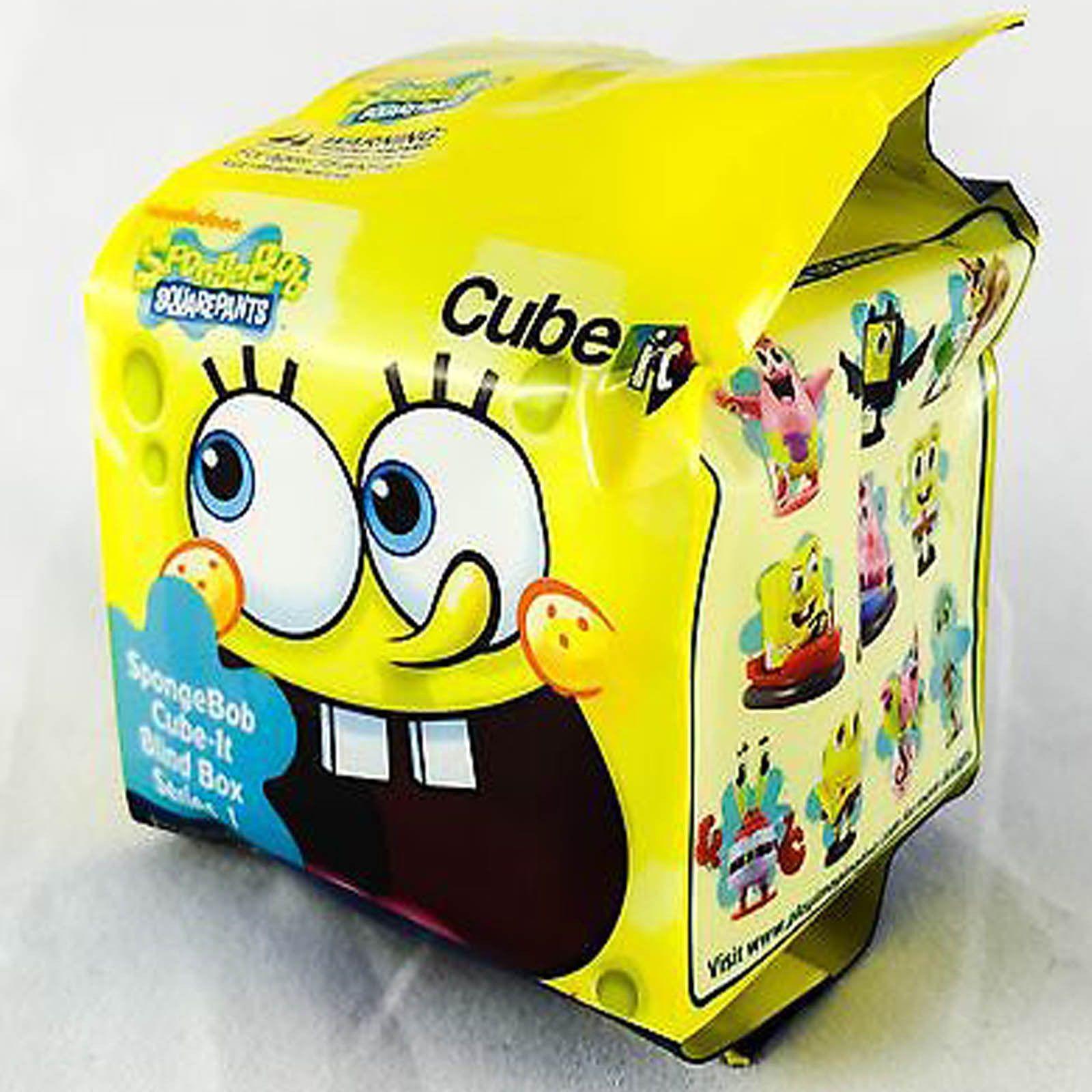 Spongebob squarepants cube it series 1 blind box mini figure radar toys 1