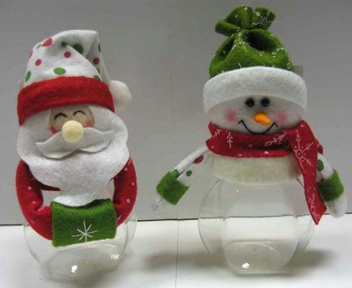Practicos y sencillos adornos navideos Christmas All Pinterest