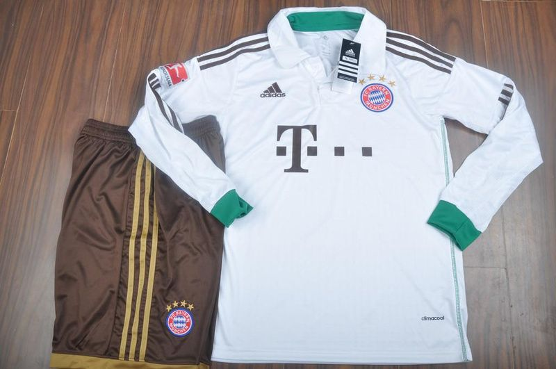 new concept 2c3f5 233a9 13-14 Bayern Munich Goalkeeper White Long Sleeve Soccer ...