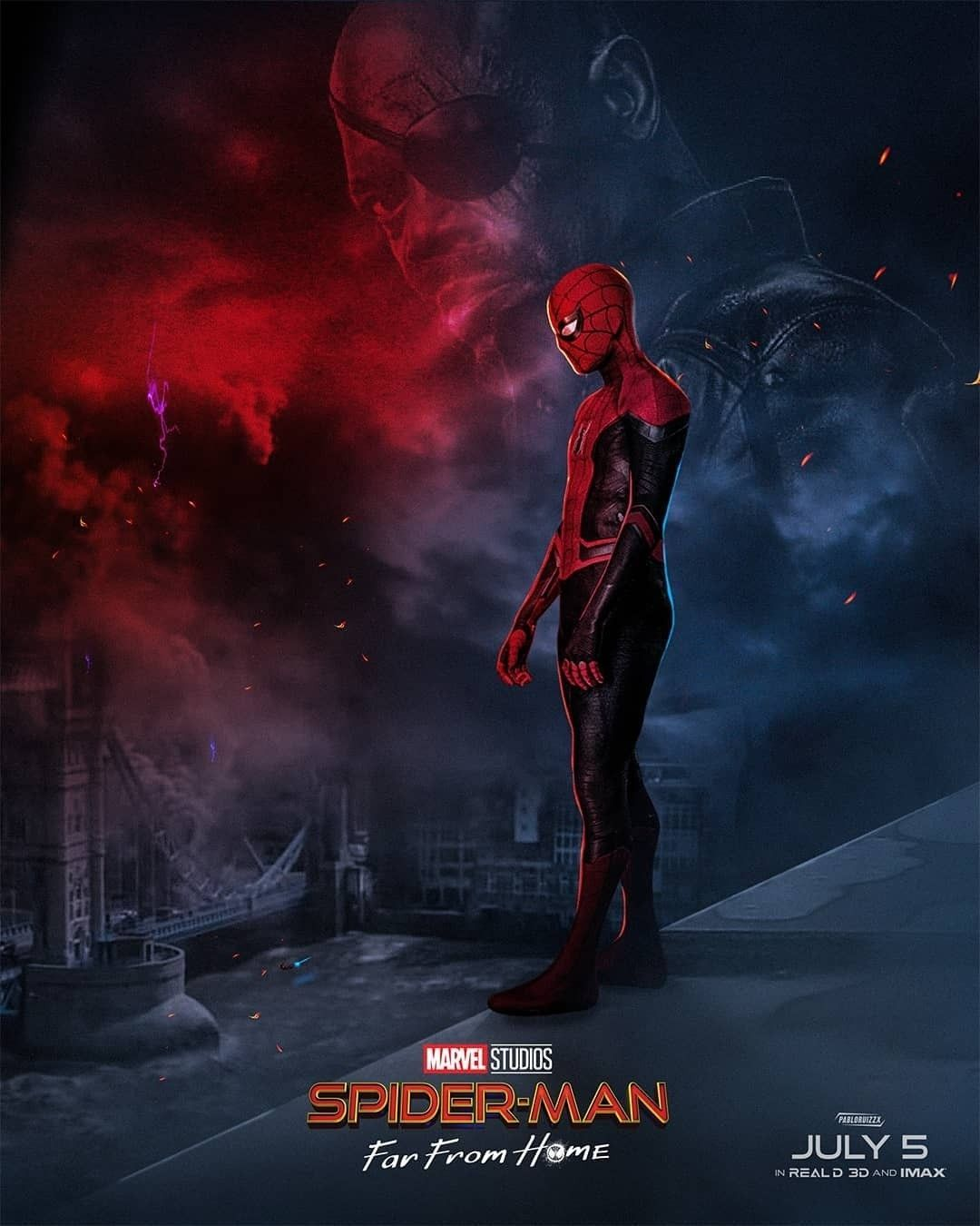 Free Download Spider Man Far From Home Hd Wallpaper Marvel N Dc