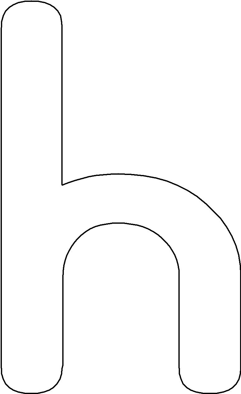 Lower Case H Abc Coloring Pages Printable Alphabet Letters Abc Coloring