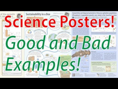 good scientific poster examples