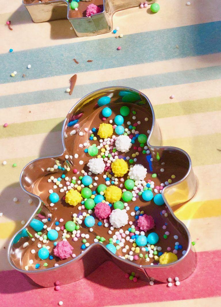 Schokolade schmelzen und verzieren - im Thermomix oder Wasserbad #schokoladeselbermachen