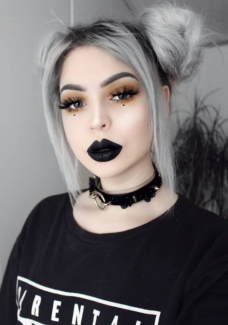 13 Grey Hair Color Ideas To Try Haircolor Silverhair Greyhair Hairstyle