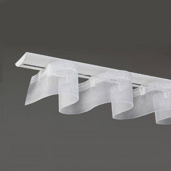ruban easyfold transparent pour rideau ondul par. Black Bedroom Furniture Sets. Home Design Ideas