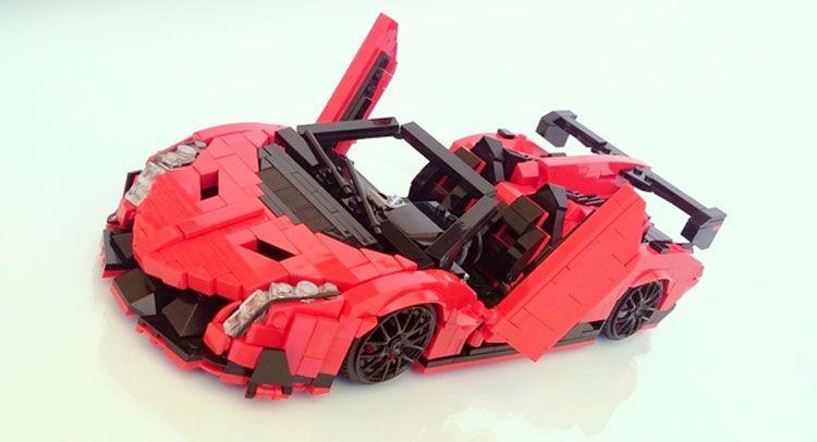 Lamborghini Veneno By Lego Los Mejores Autos Lego Pinterest