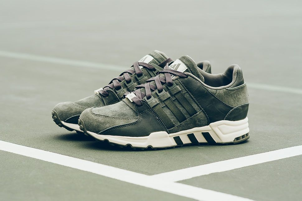 adidas EQT Running Support 93 Herzo is a nod to Germany which is where the  brand is located. This adidas EQT Running Support is now available.