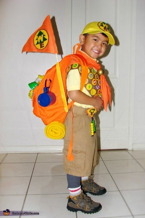 Liza family loves Halloween and we love the movie UP so thatu0027s the theme we decided on! We each picked our own characters and ran with it!  sc 1 st  Pinterest & Russell from Up - Halloween Costume Contest at Costume-Works.com ...