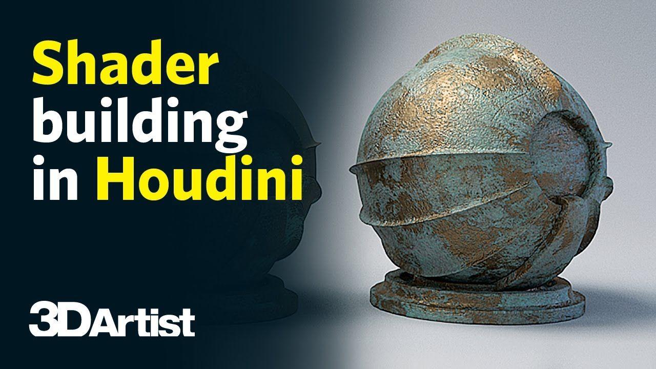 Houdini Materials and Shaders Tutorial | Houdini in 2019