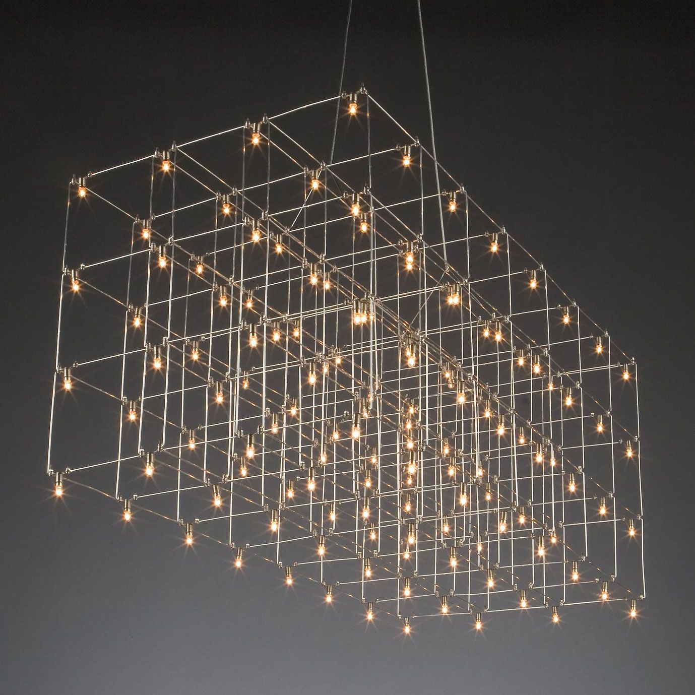 Universe LED Square Suspension by Lightology Collection